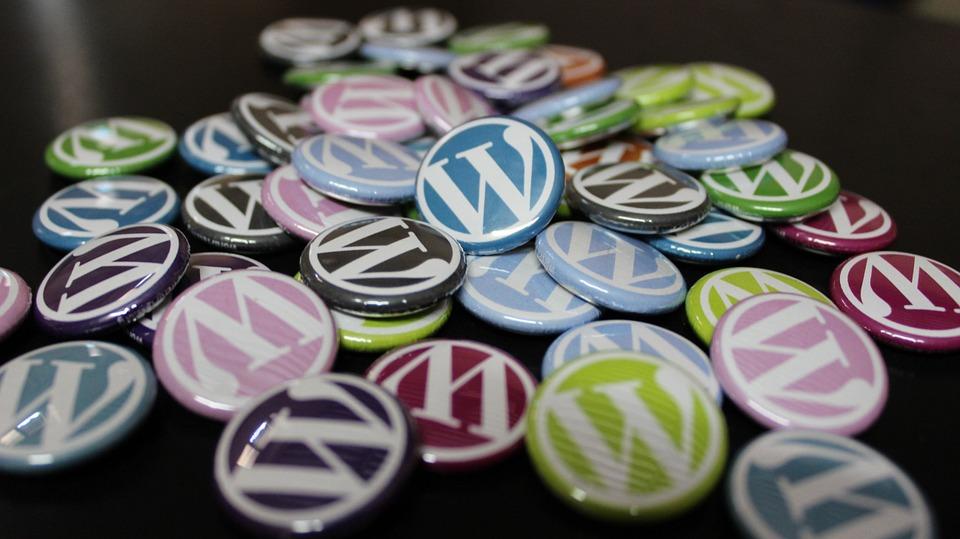 simbolo wordpress
