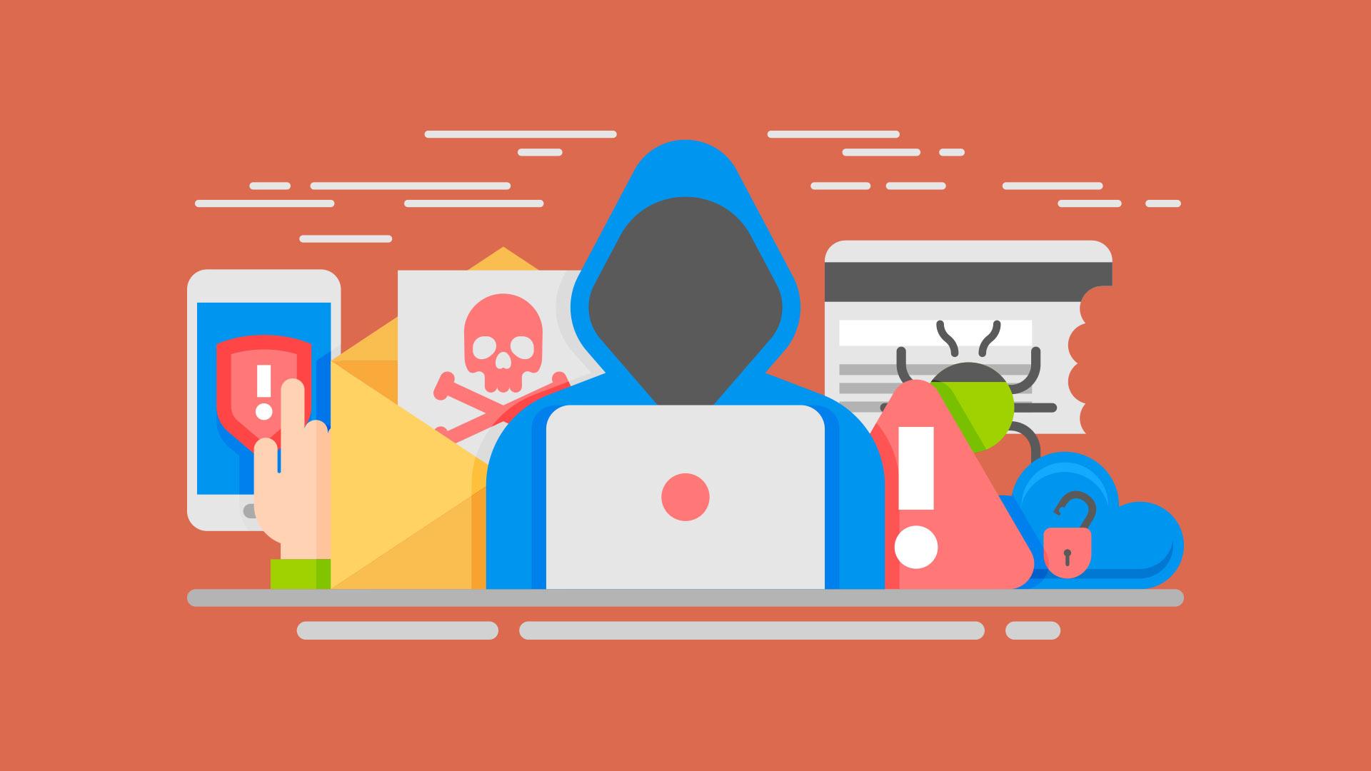 Wannacry virus malware